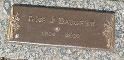 Lois J. Bud <i>Geyer</i> Baugher