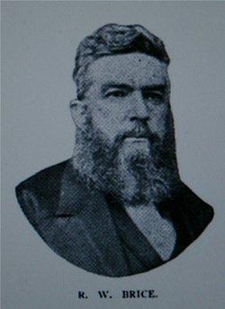 Rev Robert Wilson Brice