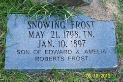 Snowing Frost