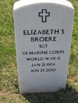 Sgt Elizabeth <i>Sherry</i> Broere