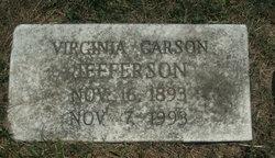 Virginia Carson Jefferson