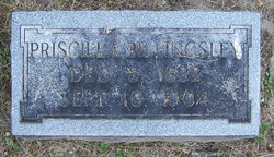 Priscilla J <i>Mefford</i> Billingsley