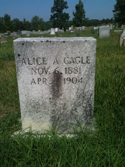 Alice A <i>Hackett</i> Cagle