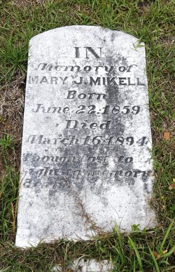 Mary Jane <i>Wise</i> Mikell