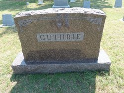 Clara J <i>Black</i> Guthrie