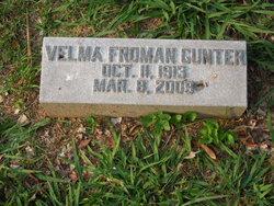 Velma May <i>Froman</i> Gunter