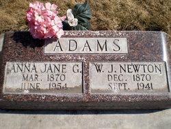 Anna Jane <i>Gilchrist</i> Adams