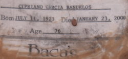 Cipriano <i>Garcia</i> Banuelos