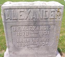 Anna E <i>Weeks</i> Alexander