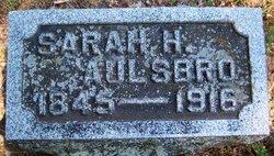 Sarah H <i>Swift</i> Aulsbro