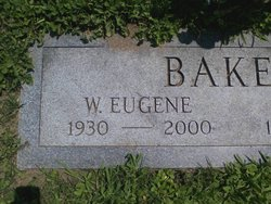 William Eugene Gene Baker