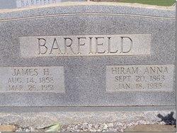 James H Big Jim Barfield