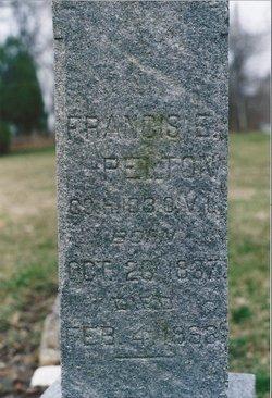 Francis E Pelton