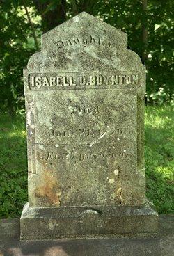 Isabell D Boynton