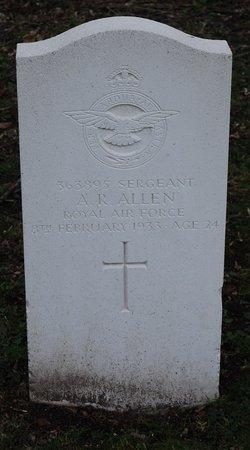 Sgt A. R. Allen