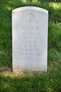 Mary K Glover