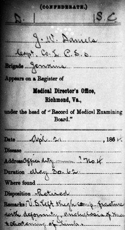 Capt John William Daniels
