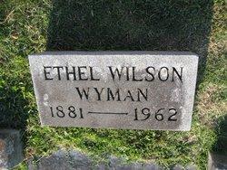 Ethel <i>Wilson</i> Wyman