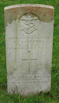 Arthur Clifford Greenhill