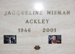 Jacqueline Wisman Ackley