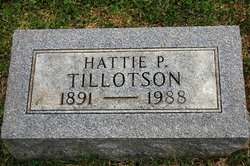 Hattie <i>Pruitt</i> Tillotson
