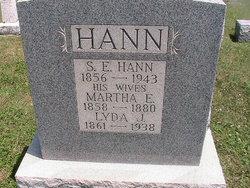 Lyda Jane <i>Hollett</i> Hann