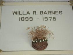 Willa <i>Robbins</i> Mendenhall Barnes