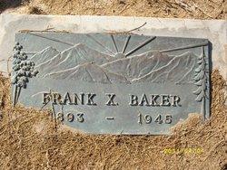 Frank X Baker