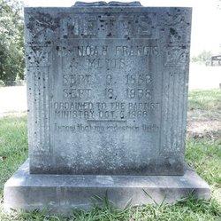 Rev Noah Francis Metts
