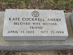 Katherine <i>Cockrell</i> Amery