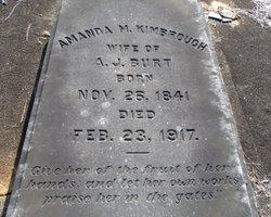 Amanda Maria <i>Kimbrough</i> Burt