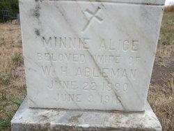 Minnie Alice <i>Miller</i> Abelman