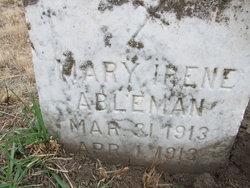 Mary Irene Abelman