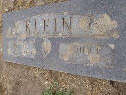John F Klein
