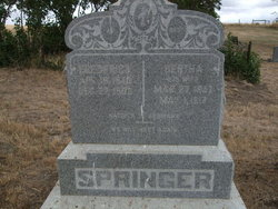 Bertha <i>Schock</i> Springer