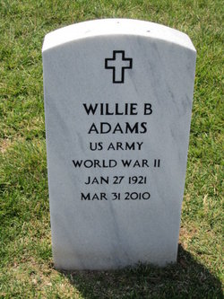 Willie B Flattop Adams, Sr