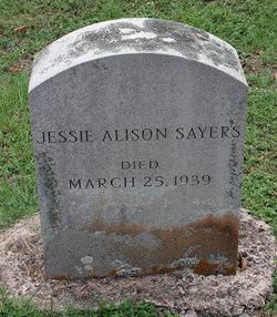 Jessie Alison Sayers