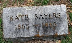 Kate Sayers