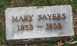 Mary Sayers