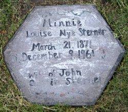 Minnie L <i>Nye</i> Sterner