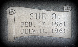 Sue Olive Sudie <i>Criswell</i> Henry