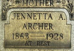 Jeannetta Jennie <i>King</i> Archer