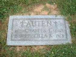 Isabella Priscilla Belle <i>Frazier</i> Auten