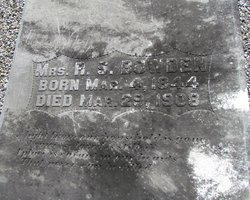 Mrs Rachel <i>Simmons</i> Bowden