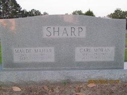Maude <i>Mahar</i> Sharp