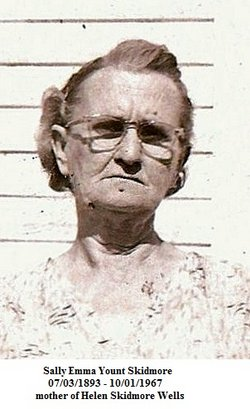 Sally Emma <i>Yount</i> Skidmore