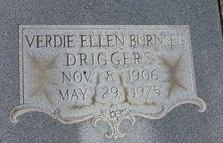 Verdie Ellen <i>Burnsed</i> Driggers