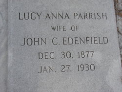 Lucy Ann <i>Parrish</i> Edenfield