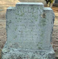 Harriet Frances <i>Burleigh</i> Allen