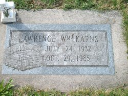 Lawrence William Sonny Karns